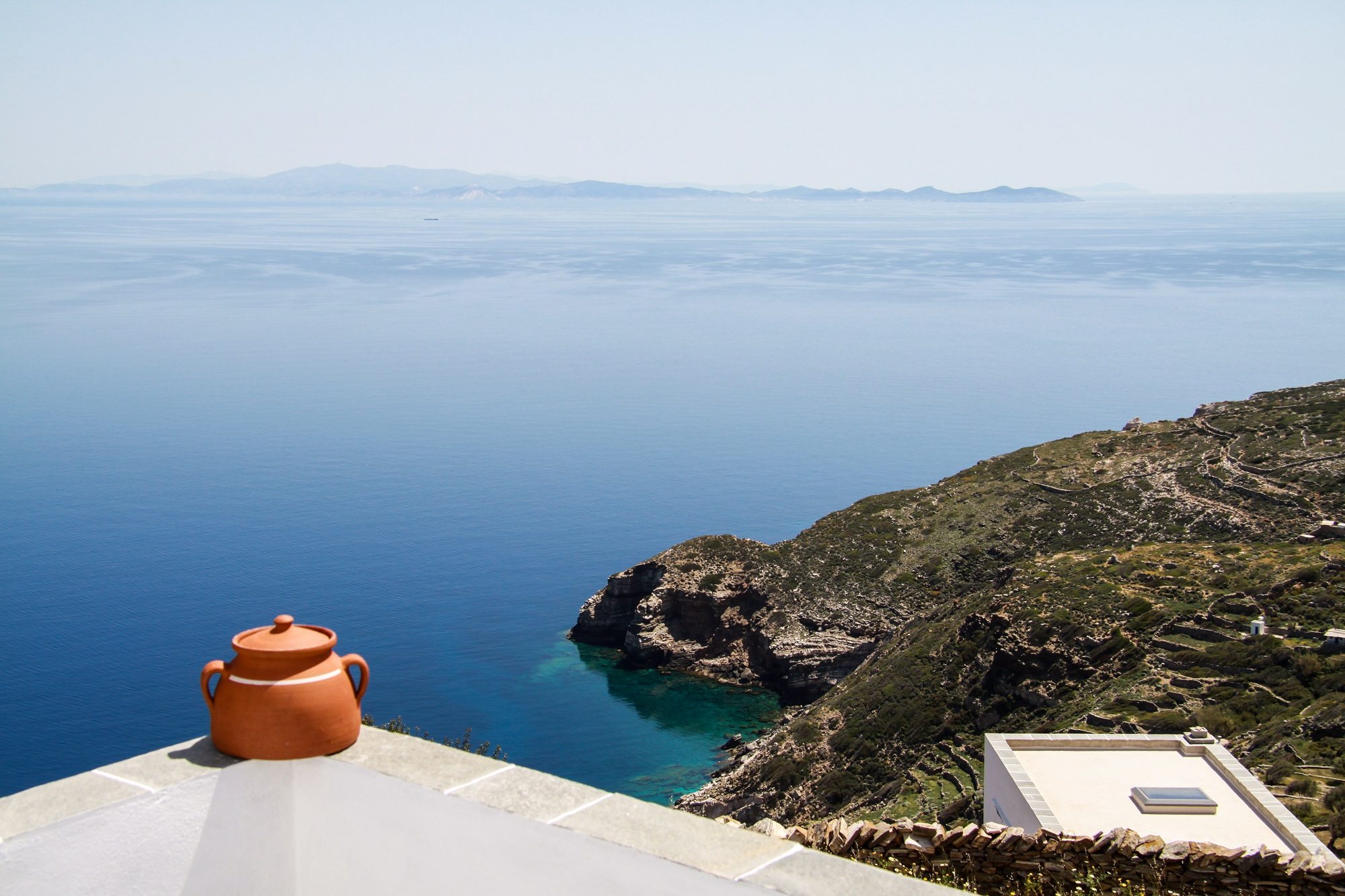 Unique Aegean Sea View
